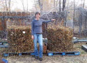 Julie Composting piles