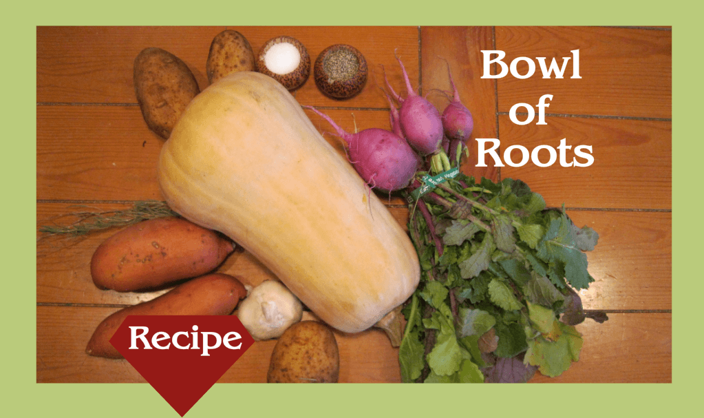 Roasted vegetable receipe
