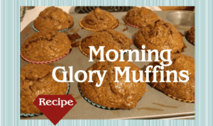 Morning Glory Muffin Recipe
