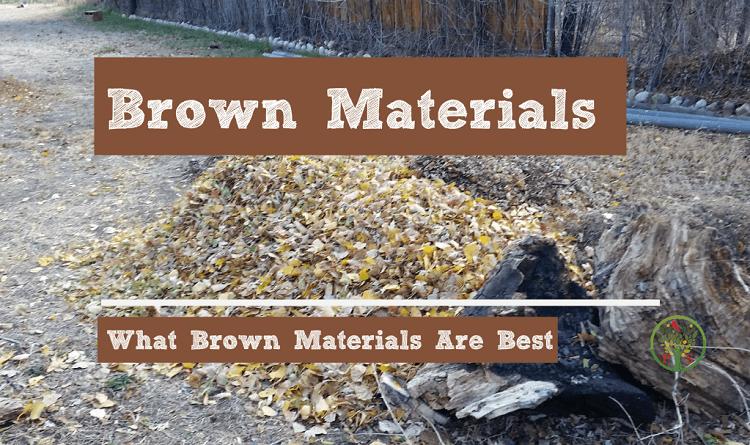 composting brown material