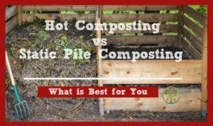 hot composting method