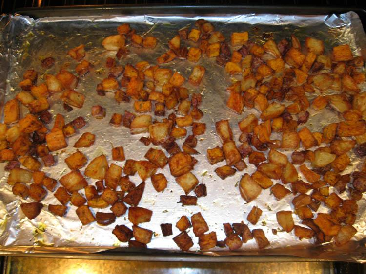 All ready roasted vegetables