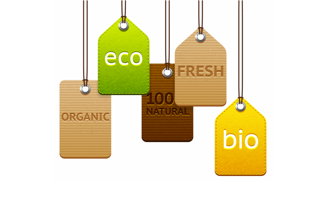 What is the difference between organic and green and sustainable